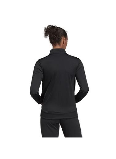 adidas Adidas Dp240 Balıkçı Yaka Uzun Kol Kadın Günlük Eşofman Üstü Siyah